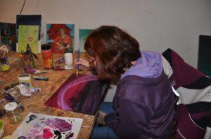 privéles, schilderles, schildercursus, olieverf, Haarlem