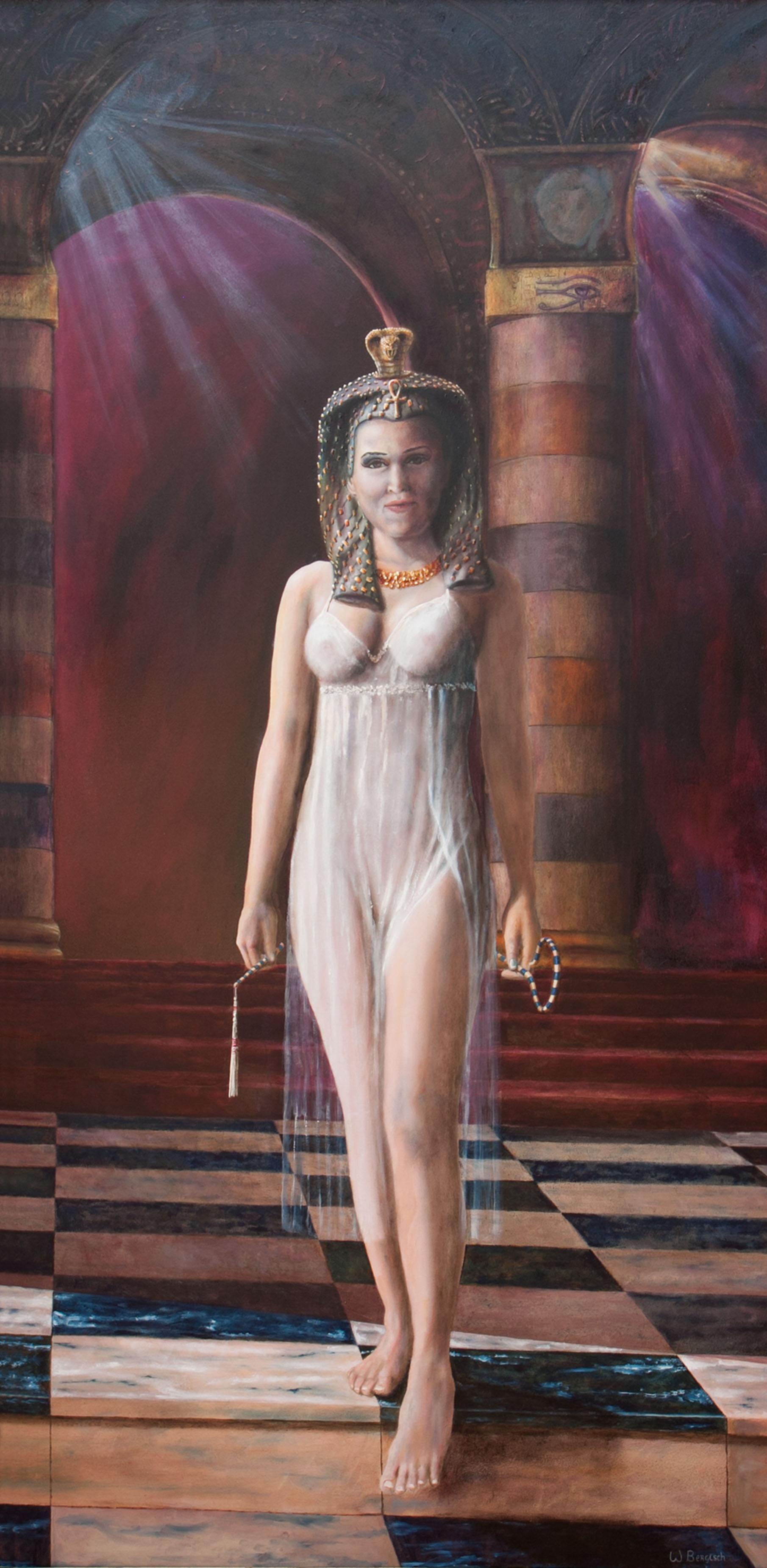 olieverf schilderij, schilderkunst, mythologie, geschiedenis, sagen, de Kromme Gevel, Haarlem, Cleopatra