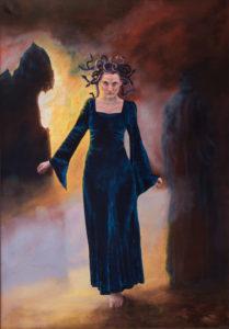 olieverf schilderij, schilderkunst, mythologie, geschiedenis, sagen, de Kromme Gevel, Haarlem, Medusa