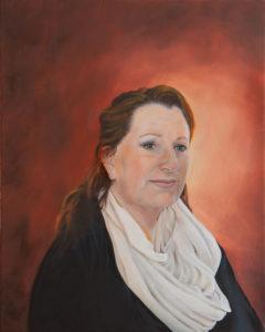 portret, olieverf, schilderij, schilderkunst, opdracht