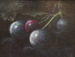 stilleven, schilderkunst, klassiek realisme, olieverf