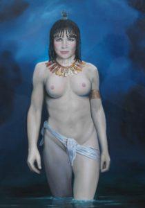 olieverf schilderij, schilderkunst, mythologie, geschiedenis, sagen, de Kromme Gevel, Haarlem, Isis